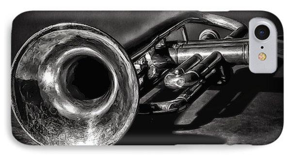 Antique Trumpet 1 IPhone Case