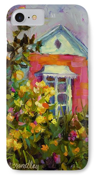 IPhone Case featuring the painting Antoinette's Cottage by Chris Brandley