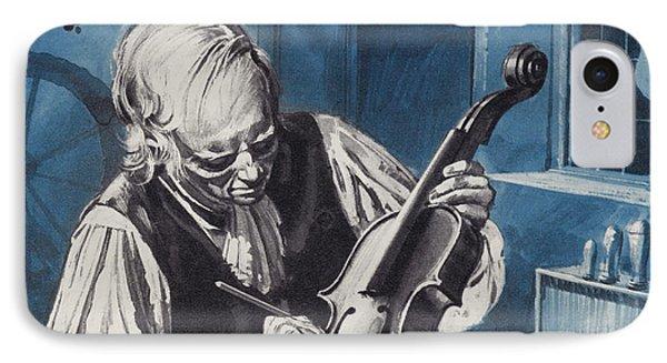 Antonio Stradivari IPhone Case by English School