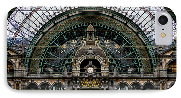 Antwerp Train Terminal Phone Case by Doug Sturgess