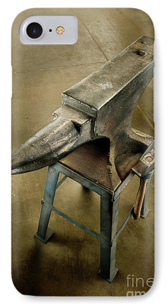 Anvil And Hammer IPhone Case by YoPedro