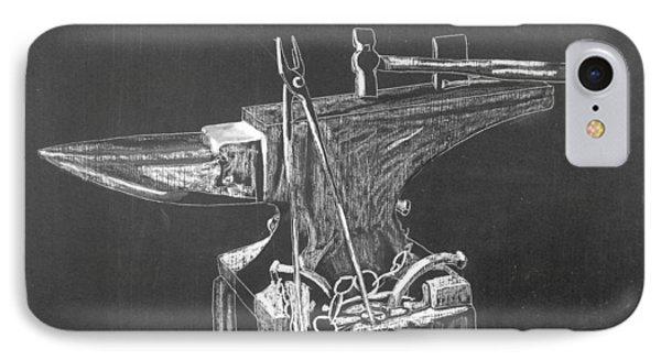 Anvil Phone Case by Richard Le Page