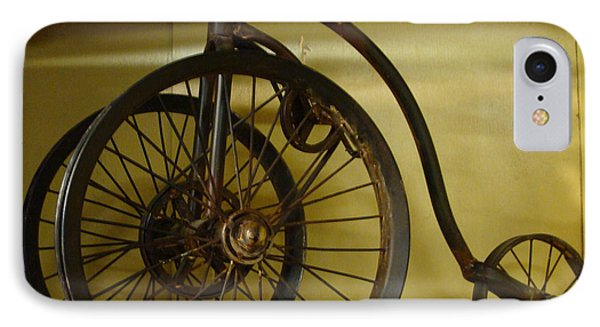 IPhone Case featuring the painting Anyone For A Bike Ride?  by Rod Jellison