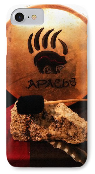 Apache Drum Phone Case by Ayasha Loya