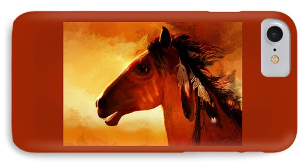 Apache IPhone Case by Valerie Anne Kelly