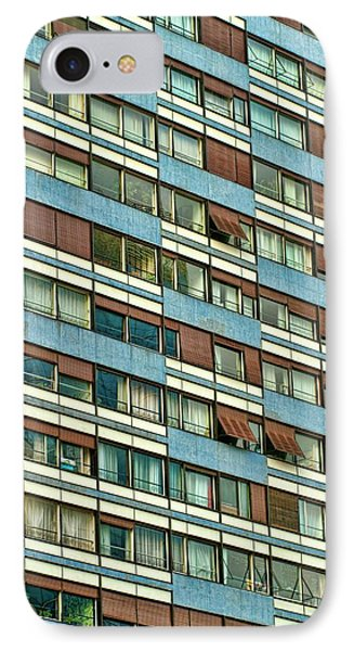 IPhone Case featuring the photograph Apartment Windows by Kim Wilson
