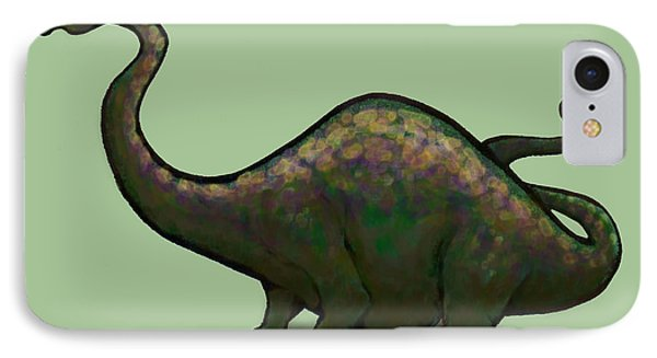 Apatosaurus  Phone Case by Kevin Middleton