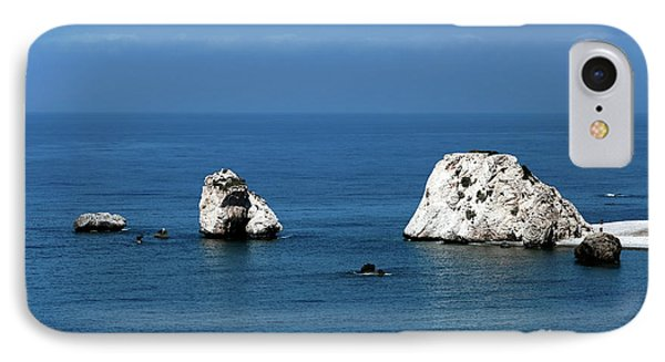 Aphrodite's Rocks Phone Case by John Rizzuto