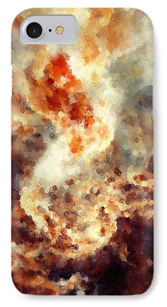 Apocalyptic Abstract IPhone Case by Georgiana Romanovna