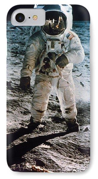 Astronauts iPhone 7 Case - Apollo 11 Buzz Aldrin by Granger