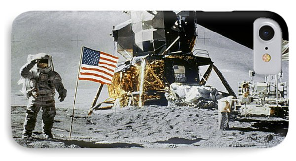 Apollo 15: Jim Irwin, 1971 Phone Case by Granger