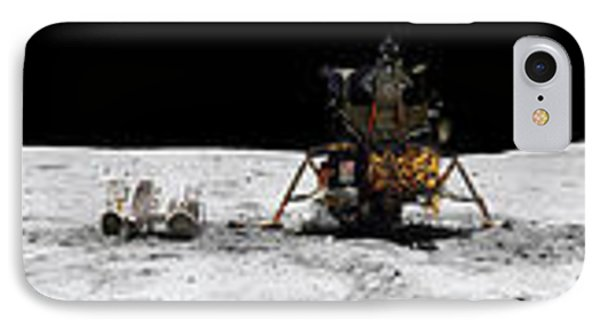 Apollo 16 Landing Site In The Lunar Phone Case by Stocktrek Images