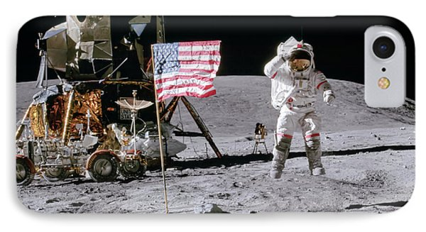 Apollo 16 IPhone Case by Peter Chilelli