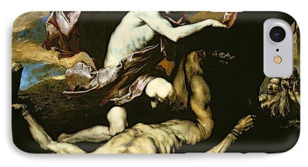 Punishment iPhone 7 Case - Apollo And Marsyas by Jusepe de Ribera