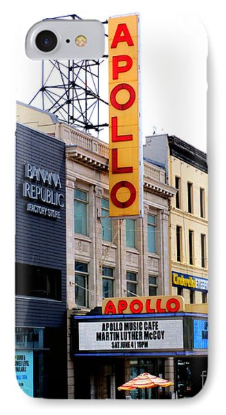 Harlem iPhone 7 Case - Apollo Theater by Randall Weidner