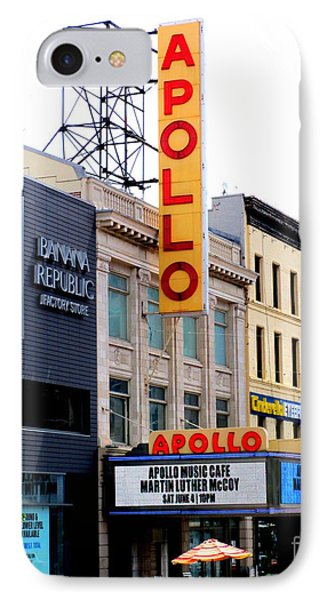 Apollo Theater IPhone Case by Randall Weidner