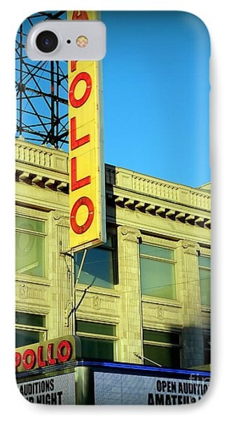 Apollo Theater iPhone 7 Case - Apollo Vignette by Ed Weidman