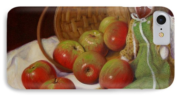 IPhone Case featuring the painting Apple Annie by Donelli  DiMaria