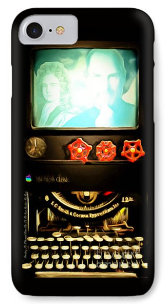 Apple Announcement Introducing The I-steampunk One 20160321 IPhone 7 Case by Wingsdomain Art and Photography
