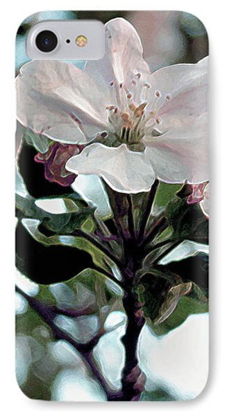 Apple Blossom Time Phone Case by RC deWinter