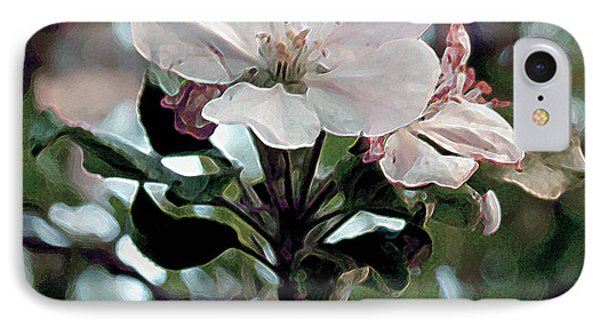 Apple Blossom Time IPhone Case by RC deWinter