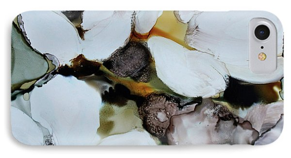 IPhone Case featuring the painting Apple Blossoms by Joanne Smoley