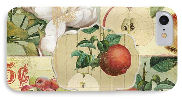 Apple Blossoms Patchwork Iv IPhone Case