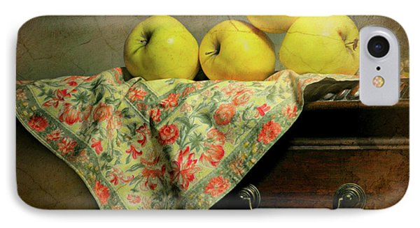 IPhone Case featuring the photograph Apple Cloth by Diana Angstadt