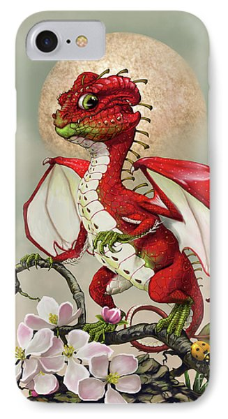 IPhone Case featuring the digital art Apple Dragon by Stanley Morrison