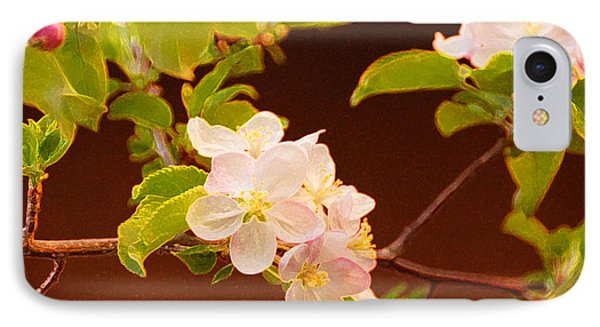 Apple Flowers IPhone Case