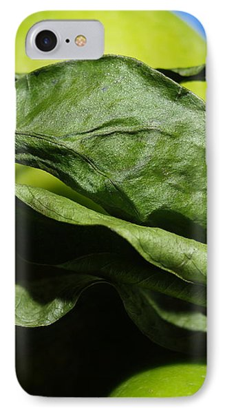 Apple Leaves IPhone Case by Michael Canning