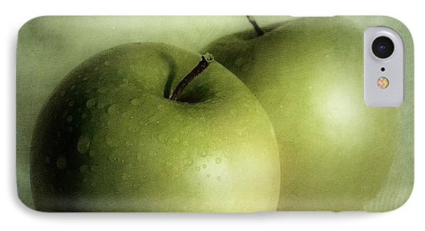 Apple Painting IPhone 7 Case by Priska Wettstein