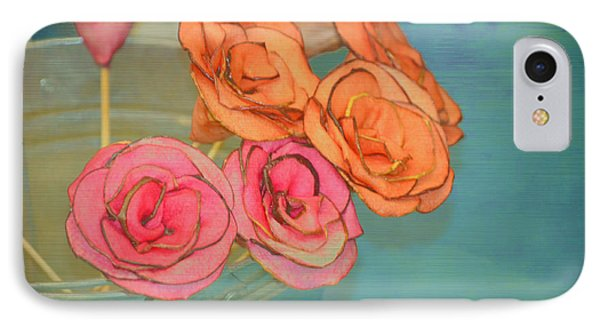 IPhone Case featuring the photograph Apple Roses by Traci Cottingham