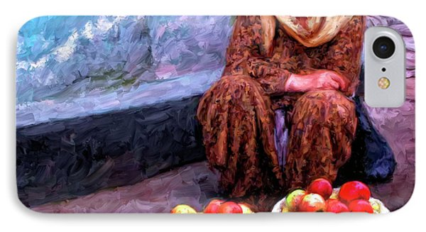 Apple Seller Phone Case by Dominic Piperata