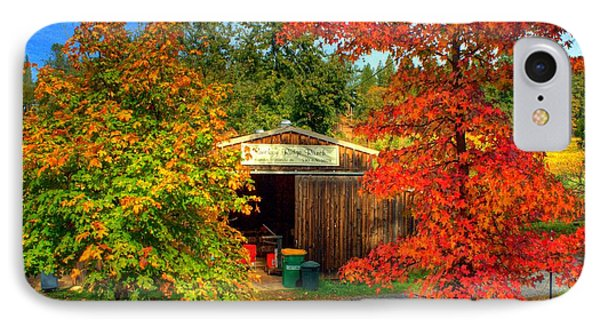 Apple Shed Phone Case by Randy Wehner Photography