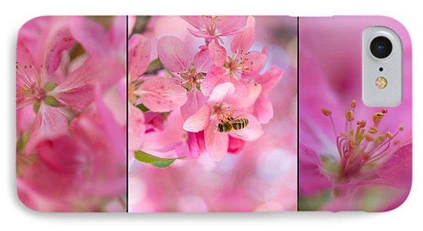 Apple Tree Triptych 3 IPhone Case