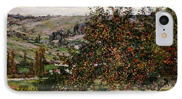 Apple Trees Near Vetheuil Phone Case by Claude Monet