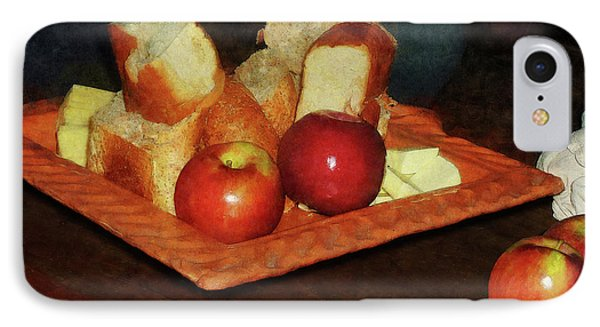 Apples And Bread Phone Case by Susan Savad