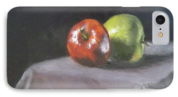 Apples IPhone Case by Becky Chappell