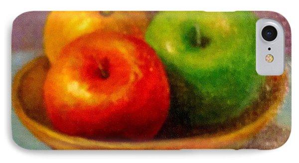 Apples Phone Case by Eun Yun