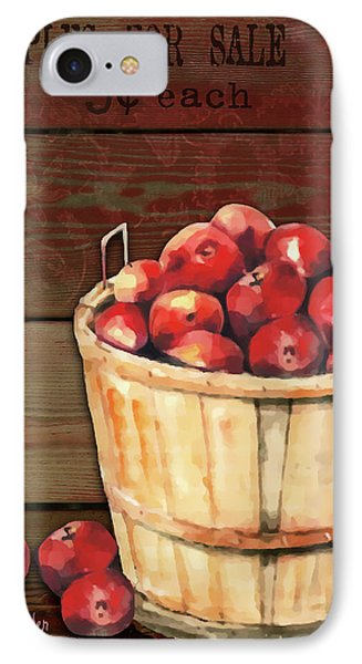 Apples For Sale Phone Case by Arline Wagner