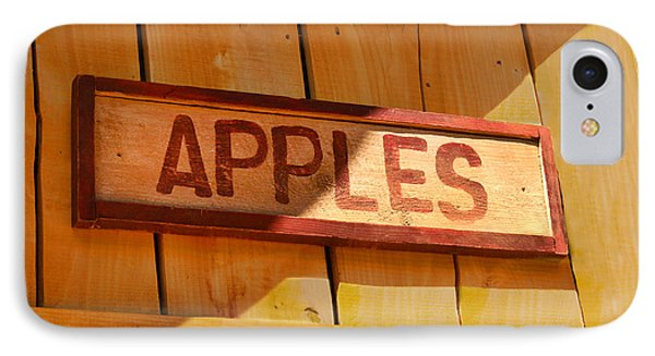 Apples For Sale IPhone Case by Jennifer Apffel