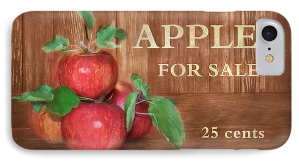 Apples For Sale IPhone Case by Lori Deiter
