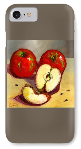 IPhone Case featuring the painting Apples by Susan Thomas