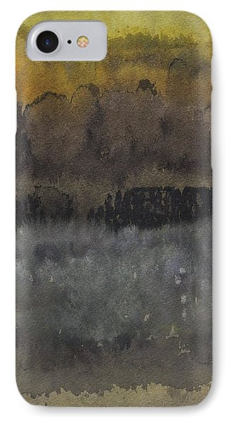 Approach To The Ruins Original Painting IPhone Case