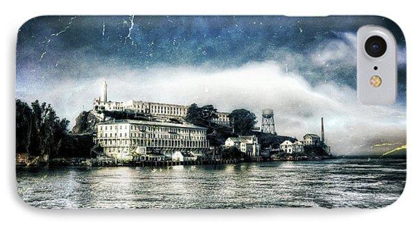 Approaching Alcatraz Island By Boat IPhone Case by Jennifer Rondinelli Reilly - Fine Art Photography