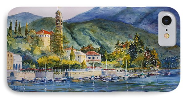 Approaching Bellagio Phone Case by Betsy Aguirre