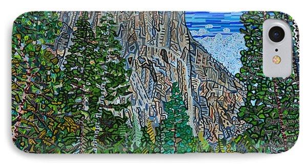 Approaching El Capitan Yosemite National Park IPhone Case