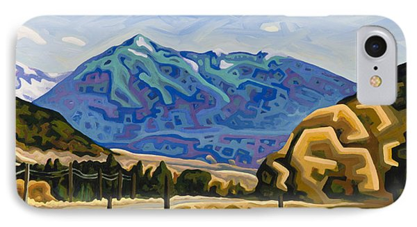 Approaching Garrison Junction Phone Case by Dale Beckman