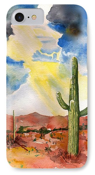 Approaching Monsoon IPhone Case by Sharon Mick
